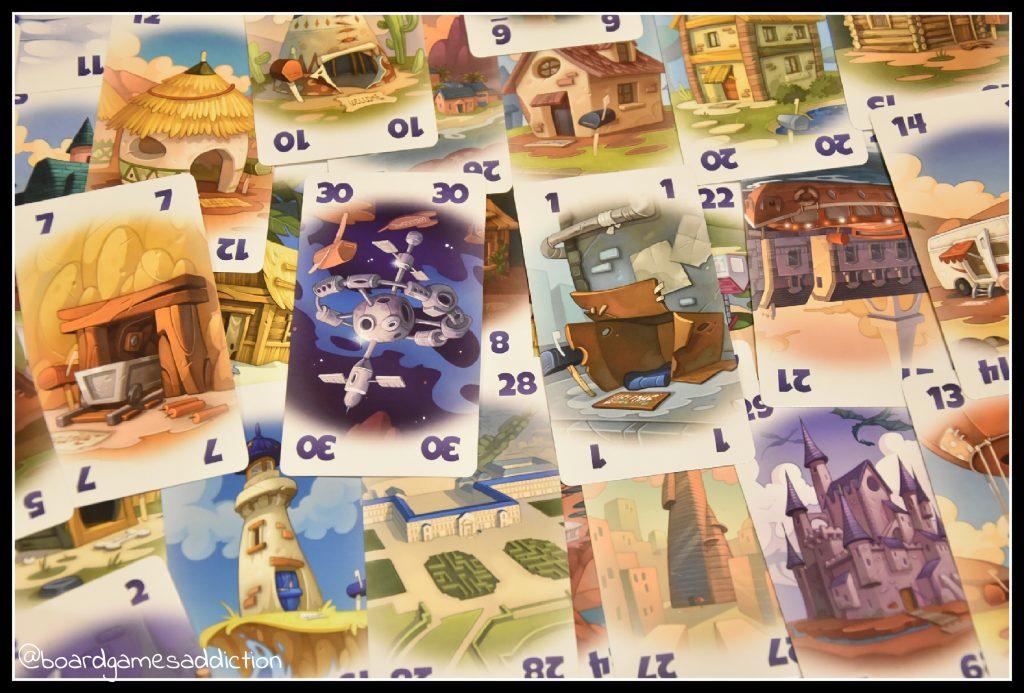 Karty domów