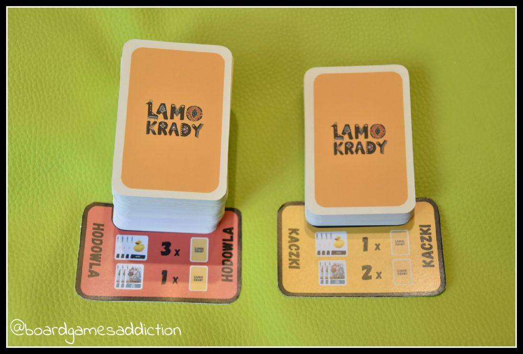 Podkładki na stosy przypominają, w jaki sposób dobiera się karty po zaganianiu stadek