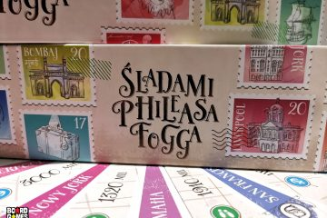 Śladami Phileasa Fogga | Board Games Addiction