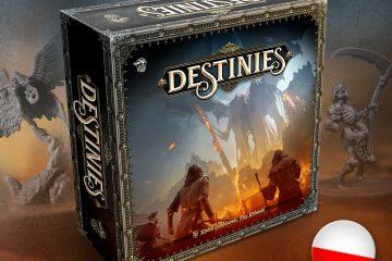 Destinies | Lucky Duck Games Polska | Board Games Addiction