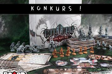 Cthulhu Death May Die Kampania 2 | Board Games Addiction